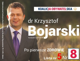 Krzysztof Bojarski - Nr 8 - Koalicja Obywatelska